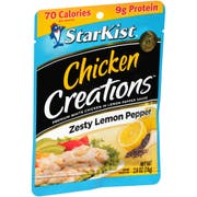 Starkist Chicken Creations Lemon Pepper Chicken, 2.6 Ounce -- 12 per case.