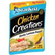 Starkist Chicken Creations Lemon Pepper Chicken, 2.6 Ounce -- 12 per case.