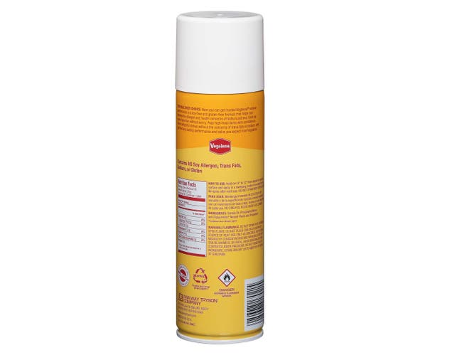 Coating Golden Canola Mist Pan Coatings -- 6 Can 16.5 Ounce