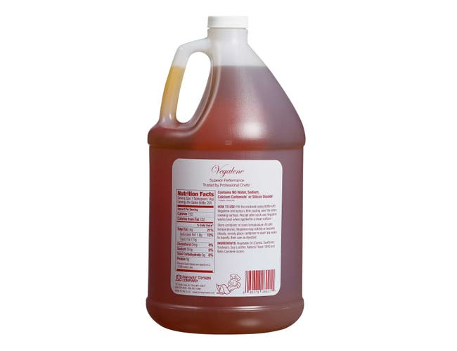 Vegalene Liquid Pan Coatings -- 4 Case 1 Gallon