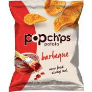 Popchips BBQ Popped Potato Chips, 0.8 Ounce -- 24 per case.