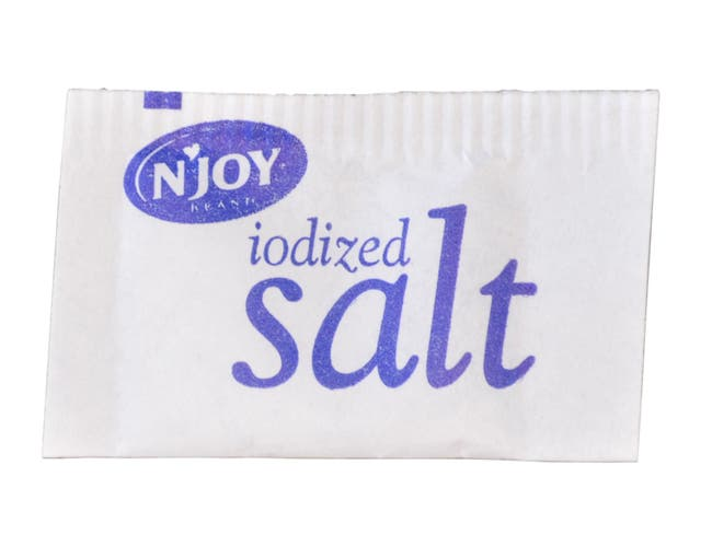 Njoy Salt Packet, 0.5 Gram -- 3000 per case.