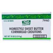 Fresh Gourmet Sweet Butter Cornbread Croutons, 2.5 Pound -- 4 per case.