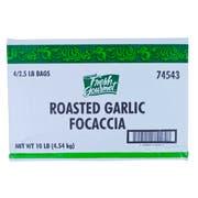 Fresh Gourmet Roasted Garlic Focaccia Croutons, 2.5 Pound -- 4 per case.