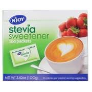 Njoy Green Stevia Sugar Substitute, 1 Gram -- 1200 per case.