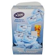 Njoy Blue Aspertame Sugar Substitute, 1 Gram -- 1600 per case.