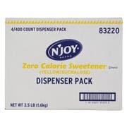 Njoy Yellow Sucralose Sugar Substitute, 1 Gram -- 1600 per case.