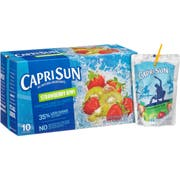 Capri Sun Strawberry Kiwi Juice Pouch, 6 Fluid Ounce -- 40 per case