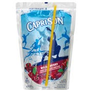 Kraft Capri Sun Wild Cherry Flavored Juice Drink Blend, 6 Ounce - 10 per pack -- 4 packs per case.