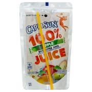 Capri Sun 100 Percent Apple Juice, 4.05 Fluid Ounce -- 48 per case.