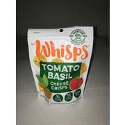 Cello Whisps Tomato Basil Parmesan Cheese Crisps, 2.12 Ounce -- 12 per case.