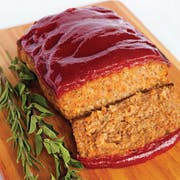 Kings Command Foods Raw Meatloaf with Sauce Packet, 24 Ounce -- 10 per case.