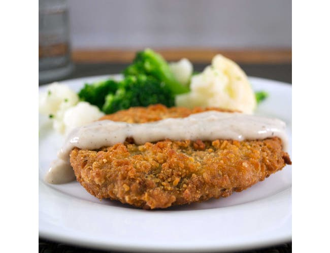 Kings Command Foods Southern Style Cooked Beef and Chicken Fritter, 3 Ounce -- 107 per case.