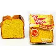 Super Bakery Super Slice Lemon Bread, 3.45 Ounce -- 70 per case