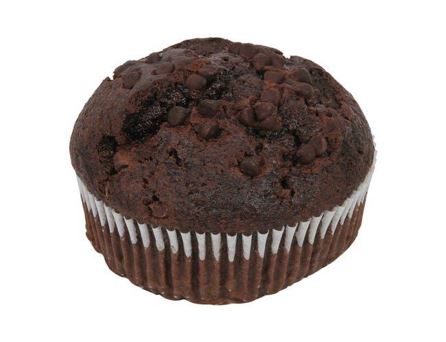 Otis Spunkmeyer Delicious Essentials Chocolate Chocolate Chip Muffin, 6.5 Ounce -- 48 per case.