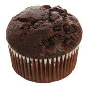 Otis Spunkmeyer Delicious Essentials Chocolate Chocolate Chip Muffin, 4 Ounce -- 24 per case.