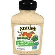 Annies Organic Mustard Horseradish, 9 Ounce -- 12 per case.
