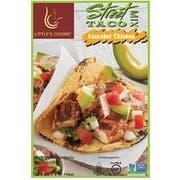 Littles Cuisine Cascabel Chicken Street Tacos Mix, 1 Ounce -- 8 per case