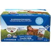 Organic Valley 6.75 Ounce White Lowfat Milk Cartons, 6.75 Fluid Ounce -- 12 per case