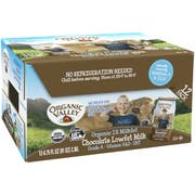 Organic Valley 6.75 Ounce Chocolate Lowfat Milk Cartons, 6.75 Fluid Ounce -- 12 per case