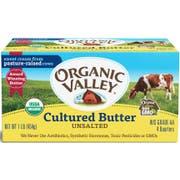 Organic Valley Cropp Cooperative Organic Cultured Butter, 1 Pound -- 15 per case