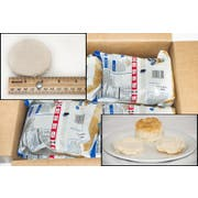 General Mills Pillsbury Unbaked Take and Bake Southern Style Biscuit Dough, 2 Ounce -- 144 per case.