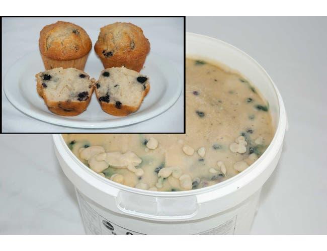 General Mills Pillsbury Blueberry Muffin Batter, 18 Pound -- 1 each.