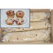 General Mills Pillsbury Tubeset Cranberry Nut Muffin Batter, 3 Pound -- 6 per case.