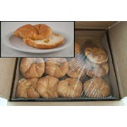 General Mills Pillsbury Butter Pinched Sliced Croissant, 3 Ounce -- 48 per case.