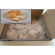 General Mills Pillsbury Baked Butter Curved Sliced Croissant, 2 Ounce -- 64 per case.