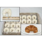 General Mills Pillsbury Butter Curved Croissant, 3.25 Ounce -- 120 per case.