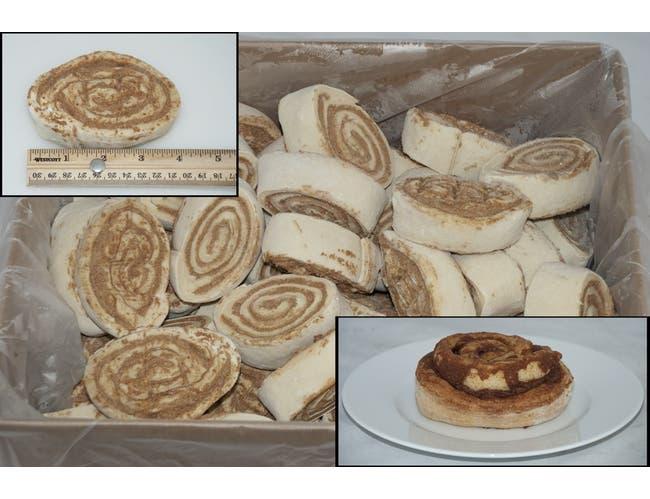 General Mills Pillsbury Supreme Freezer-to-Oven Cinnamon Roll, 5 Ounce -- 60 per case.