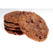 Bonzers Ultimate Reduced Fat Double Choc Chip 51 Percent Whole Grain Cookie, 1.5 Ounce -- 72 per case.