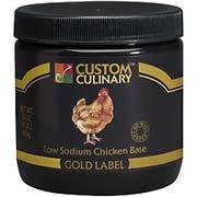 Custom Culinary Gold Label Chicken Base, 4 Pound -- 3 per case.
