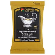 Custom Culinary PanRoast Peppered Biscuit Gravy Mix, 20 Ounce -- 6 per case.