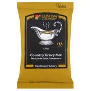 Custom Culinary PanRoast Country Gravy Mix, 20 Ounce -- 6 per case.