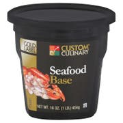 Custom Culinary Gold Label Seafood Base, 1 Pound -- 6 per case.