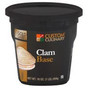 Custom Culinary Gold Label Clam Base, 1 Pound -- 6 per case.