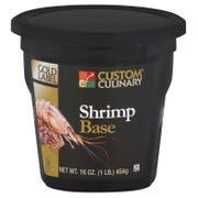 Custom Culinary Gold Label Shrimp Base, 1 Pound -- 6 per case.