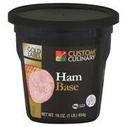 Custom Culinary Gold Label Ham Base, 1 Pound -- 6 per case.