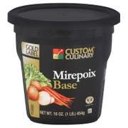 Custom Culinary Gold Label Mirepoix Base, 1 Pound -- 6 per case.