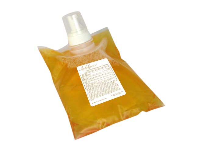 U.S.Chemical Foaming Antimicrobial Floral Hand Soap, 1000 Milliliter -- 4 per case.