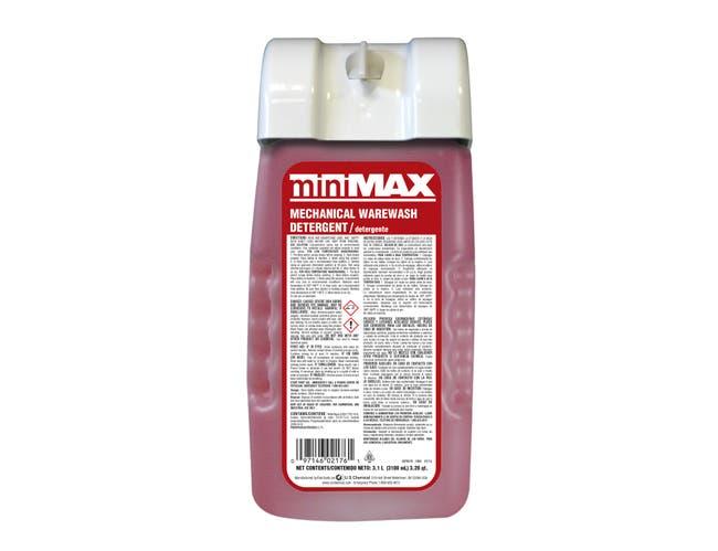 US Chemical MiniMax Mechanical Warewash Detergent, 3100 Milliliter -- 2 per case.
