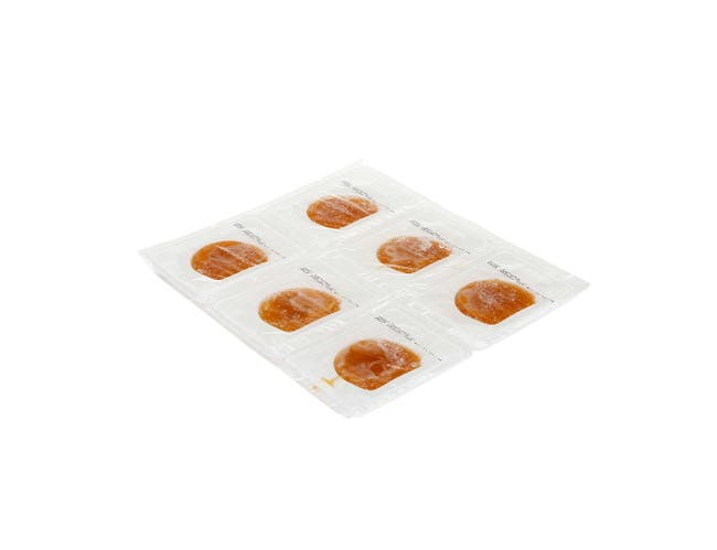 Hormel Healthlabs Thick and Easy Pureed Shaped Peach, 2.5 Ounce -- 24 per case.