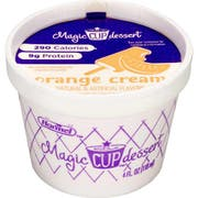 Magic Cup Fortified Nutrition Orange Creme Snack, 4 Ounce -- 48 per case.
