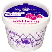 Magic Cup Fortified Nutrition Wild Berry, 4 Ounce -- 48 per case.