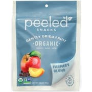 Peeled Snacks Organic Farmers Blend Dried Fruit, 2.8 Ounce Bag -- 12 per case