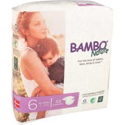 Bambo Nature Size 6 Baby Diaper - 22 count per pack -- 6 packs per case