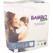 Bambo Nature Size 5 Training Pant - 20 count per pack -- 5 packs per case