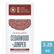 Schmidts Cedarwood plus Juniper Deodorant Stick, 3.25 Ounce -- 12 per case
